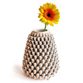 bud vase knit with bloom