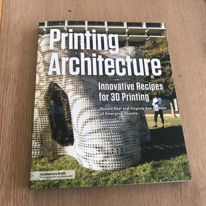 New Book: Printing Architecture!